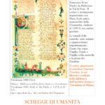 Dante Alighieri Locandina Per lo spettacolo Schegge di Umanità (1)